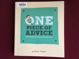 Cover image of One Piece of Advice by Yvonne Hughes