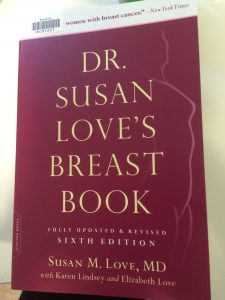 Cover image of Susan Love's breast book, 6th edition
