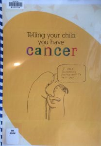 Cover image of Telling your child you have cancer