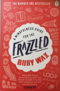 Cover image of Frazzled by Ruby Wax.