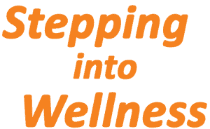 Stepping into Wellness (heading)