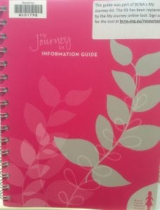 Cover image of My Journey Kit information guide